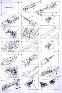 Maxfactor Lashblast storyboard
